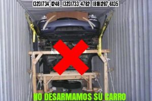 No desarmamos su carro
